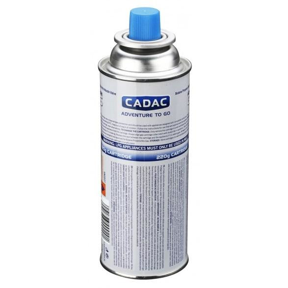 Cadac 220g Aerosol Nozzle Gas Cartridge - Pack of 4