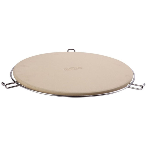 Cadac Pizza Stone Pro 36cm with flame tamer