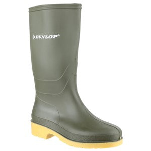 Child's Dunlop Dull Welly - Green