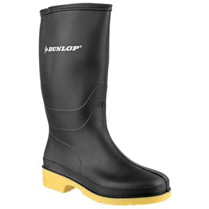Child's Dunlop Dull Welly - Black