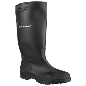 Dunlop Pricemaster Black Welly