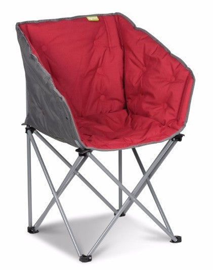 Kampa Tub Chair - Red - AVAILABLE IN STORE ONLY