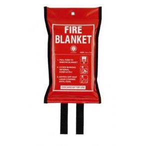 Firechief Fire Blanket/PVC Wallet