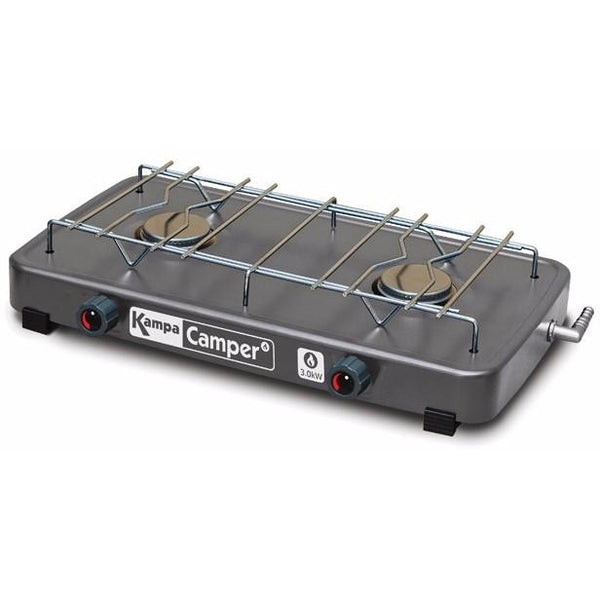 Kampa Camper Double Gas Hob Stove