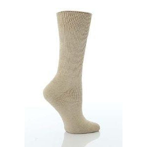 HJ Hall Diabetic Sock - UK Size 4-7 - Oatmeal