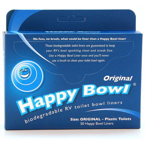 Happy Bowl - Toilet Liners - 50