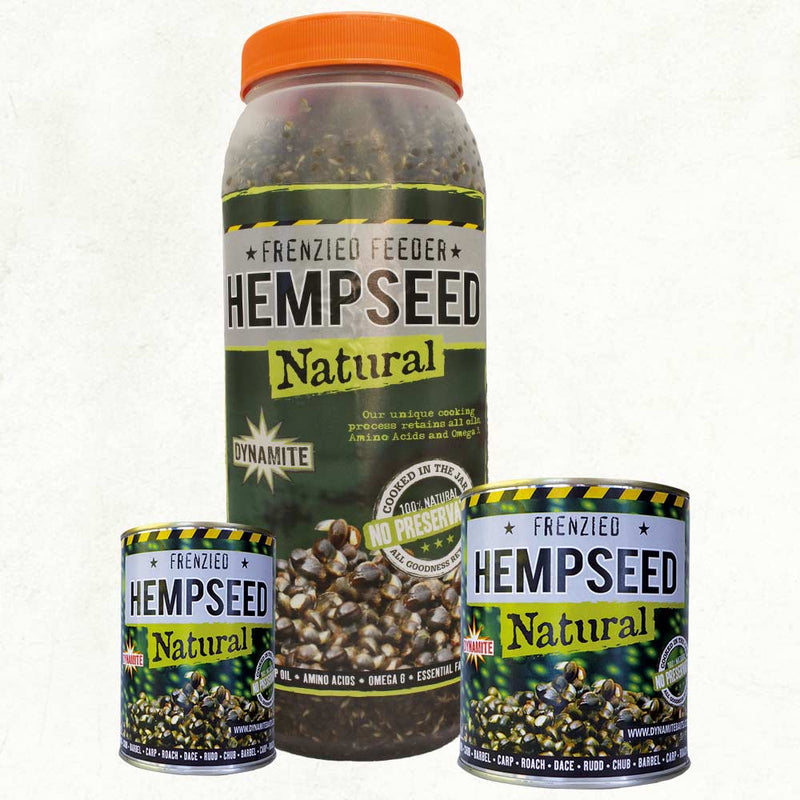 Dynamite Frenzied Hempseed Natural - 2.5L Jar