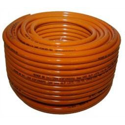 High Pressure Orange Gas Hose - BS 3212/2 - 8mm