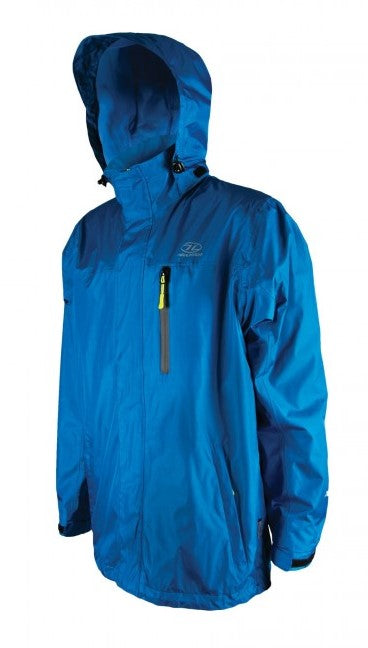 Highlander Arran Jacket - Artic Blue