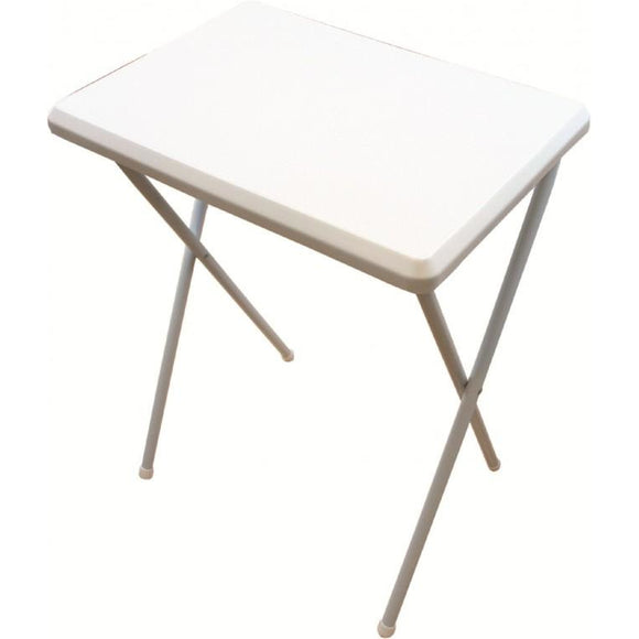 Highlander Camping Folding Table - White