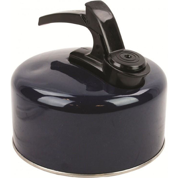 Highlander 2L Alu Whistling Kettle - Navy