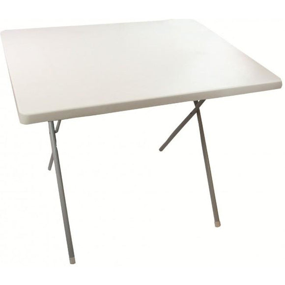 Highlander Outdoor Folding Table - White
