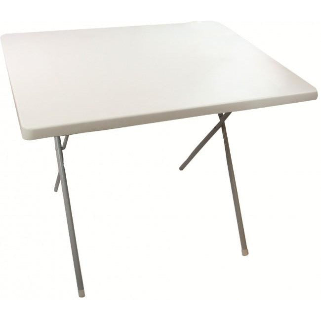 Highlander Outdoor Folding Table - White - AVAILABLE IN STORE ONLY