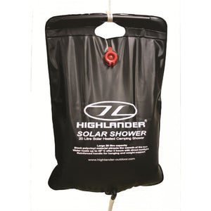 Highlander 20L Solar Shower - Portable Shower Bag