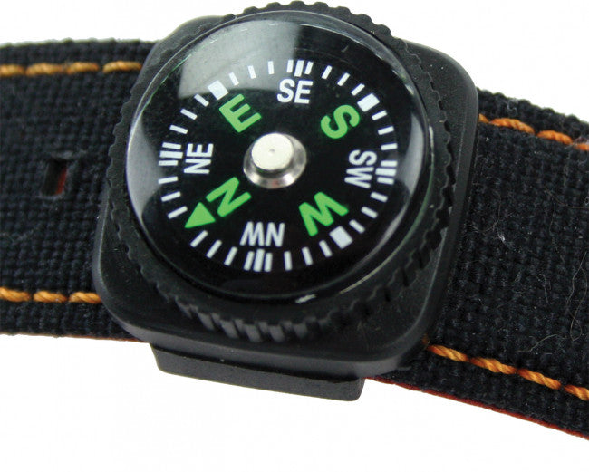 Highlander Watch Strap Button Compass