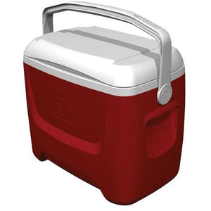 Igloo Island Breeze 28 Cool Box - Red