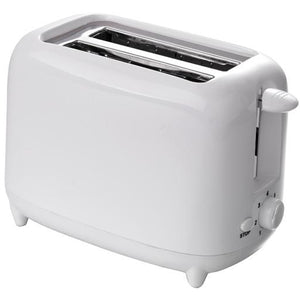 Quest Low Wattage 2 Slice Toaster - White