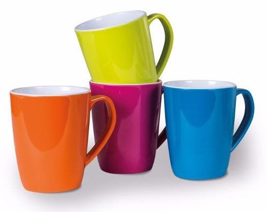 Kampa Summer Mug Set - 4 Mixed Colours