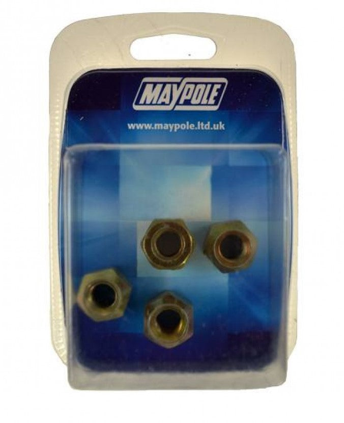 Maypole 3/8 UNF Conical Nuts (set of 4)