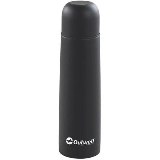 Outwell Agita Stainless Steel Flask 0.75 ltr - Black