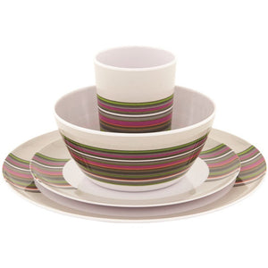 Outwell Blossom Picnic Set 4 Persons Magnolia Red