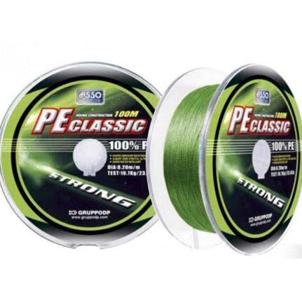 Asso PE Classic 300mt 0.18mm/20.7LB Braid