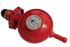 Propane regulator with hand wheel