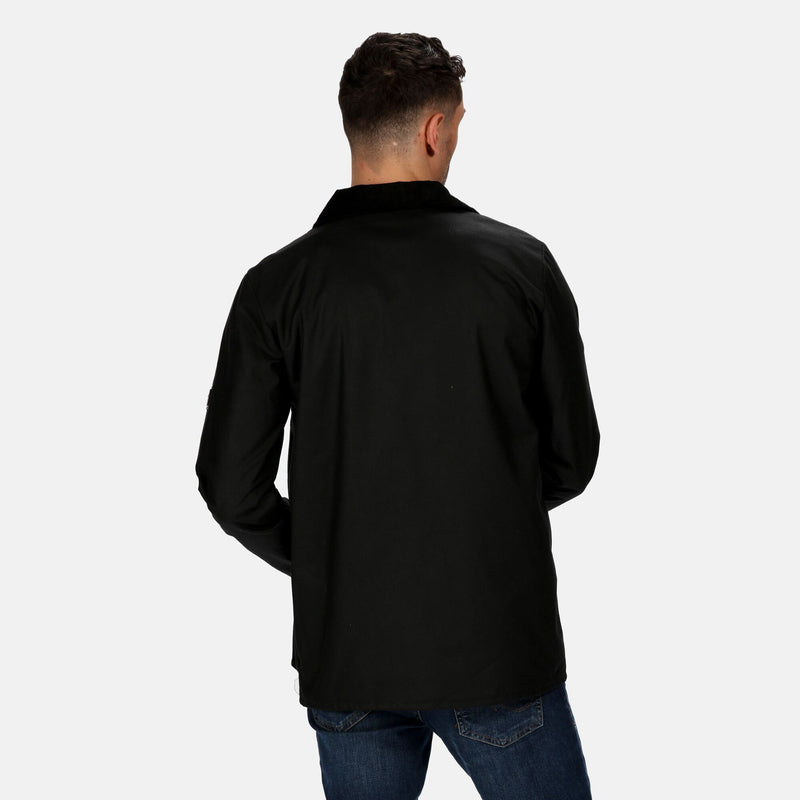 Regatta Men's Country Wax Jacket - Black