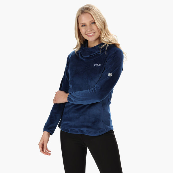 Regatta Halia Velour Fleece - Prussian Blue