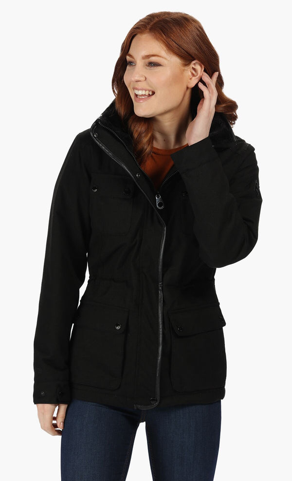Regatta Lizbeth Waterproof Insulated Jacket - Black