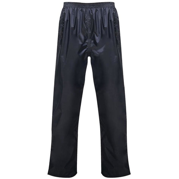 Regatta Rainpak Waterproof Breathable Overtrousers - Navy