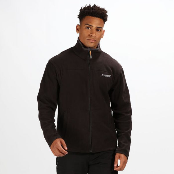 Regatta Mens Fairview Fleece -Black
