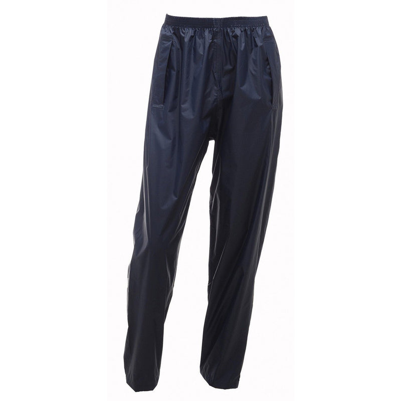 Regatta Packaway II Waterproof Breathable Overtrousers - Navy