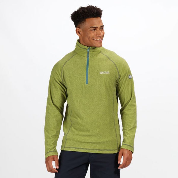 Regatta Men's Montes Fleece - Lime Punch