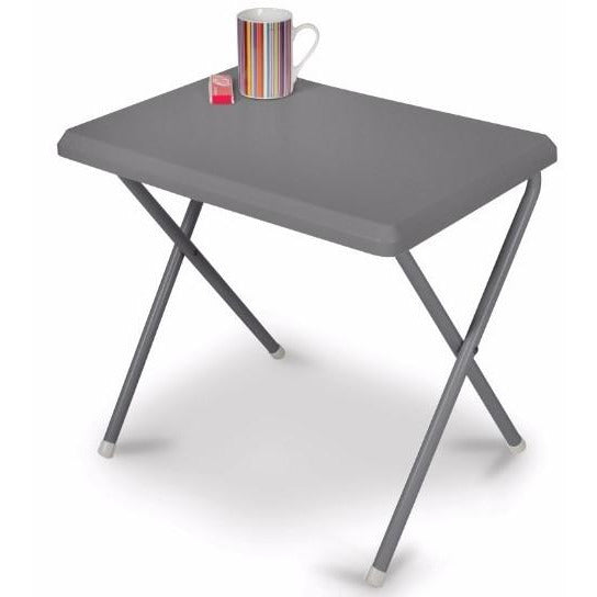 Kampa Mini Plastic Table - Grey - AVAILABLE IN STORE ONLY
