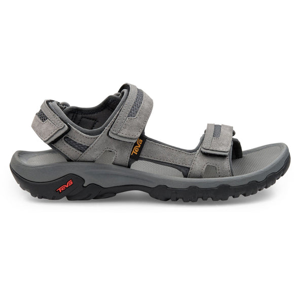 Teva Hudson Mens Sandal - Charcoal Grey