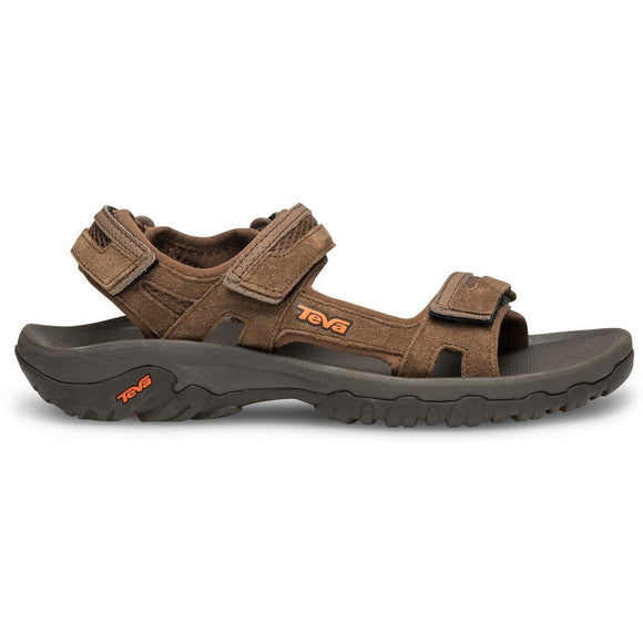 Teva Hudson Mens Sandal - Dark Earth