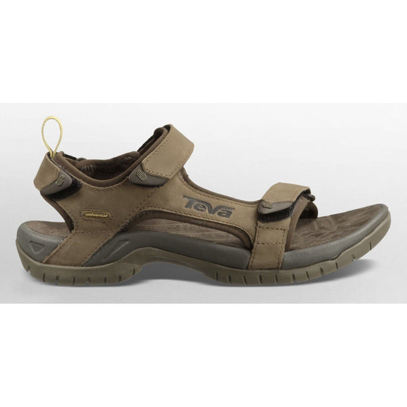 Teva Mens Tanza Leather - Brown- UK 12 Only