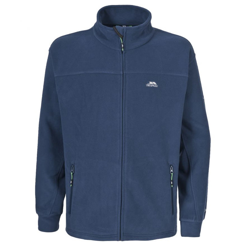 Trespass Mens Bernal Fleece Navy