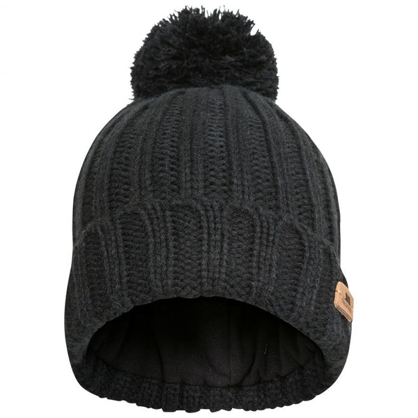Trespass Thorns Bobble Hat - Black