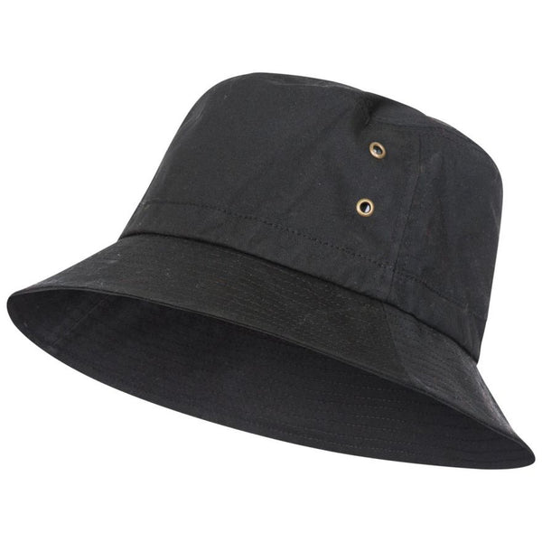 Trespass Waxy Hat - Black - S/M
