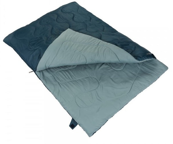 Vango Ember Superwarm Double Sleeping Bag - Moroccan Blue