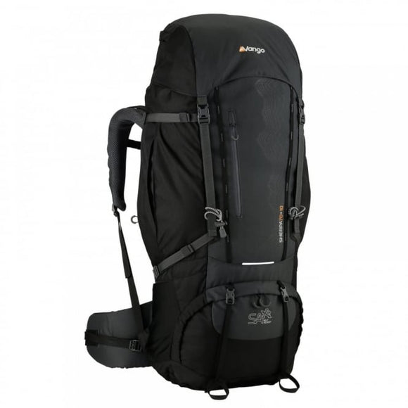 Vango Sherpa 70+10 Rucksack - Shadow Black