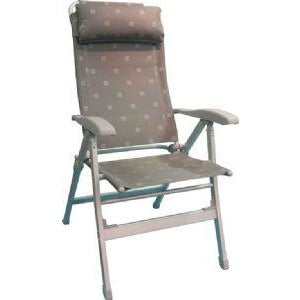 Via Mondo Aluminium High Back Chair - Grey