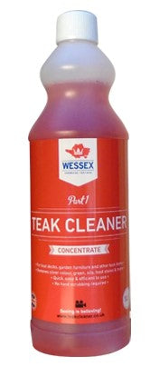 Wessex Chemicals Teak Cleaner (Part 1)