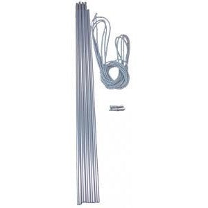 Alloy Pole Set - 9.5mm x 55cm