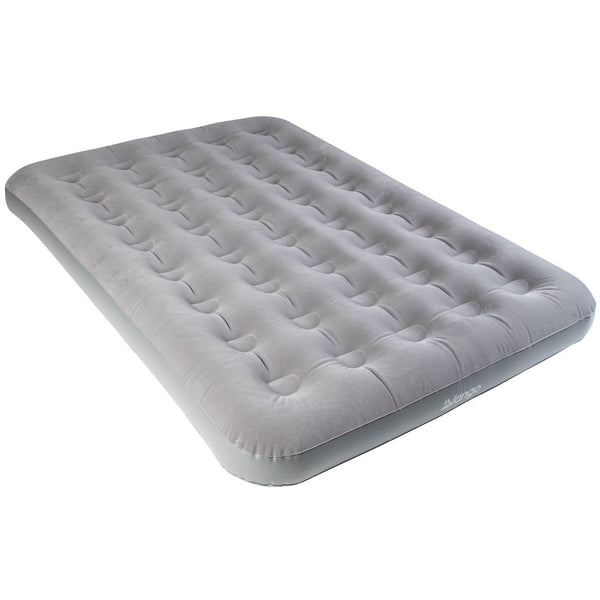 Vango Double Flocked Airbed - Nocturne Grey