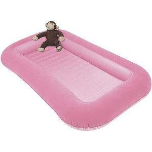 Kampa Airlock Junior Childs Air Bed - Candyfloss Pink