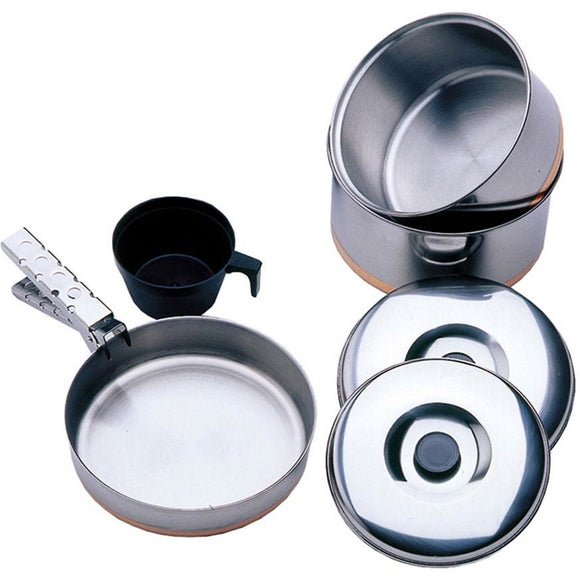 1 Person Stainless Steel Cook Kit