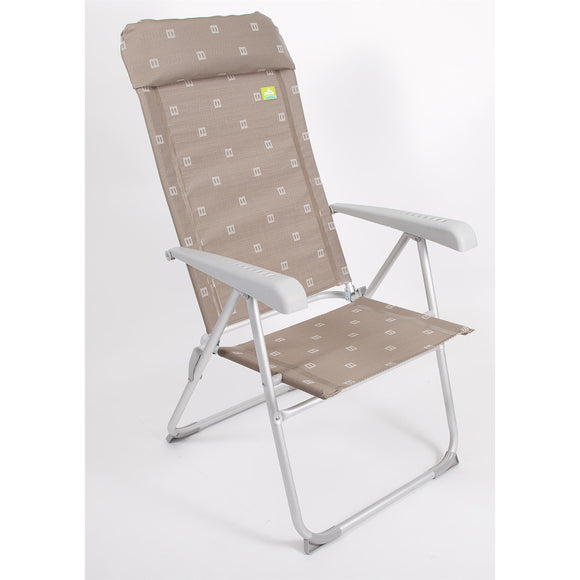 Via Mondo Aluminium Chair - Grey